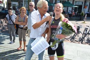 Paul Meijering 16de recreatieve een-achtste triatlon 2015