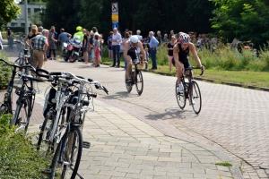 Paul Meijering 17de recreatieve een-achtste triatlon 2016