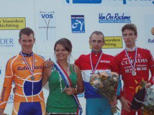 Huldiging Elite-Mannen Nederlandse Kampioenschappen Tijdrijden 2007