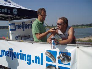Winnaar Paul Meijering 9de recreatieve 1/8 triatlon 2008