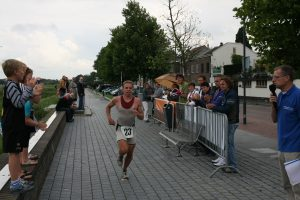Winnaar Paul Meijering 12de recreatieve 1/8 triatlon 2011