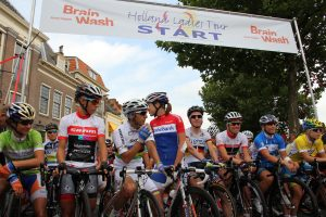 Start 4de etappe Holland Ladies Tour 2012