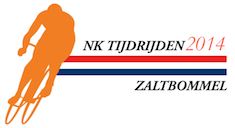 Logo NK Tijdrijden 2014