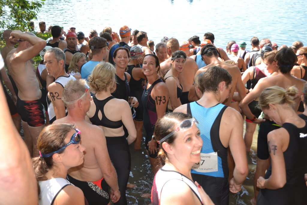 Start Paul Meijering 20ste recreatieve 1/8 triatlon 2019